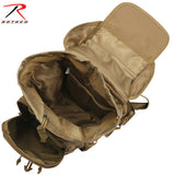 Rothco Flexipack MOLLE Tactical Shoulder Bag - Interior of main compartment