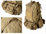 Rothco's Global Assault Pack - M.O.L.L.E. and back case detail