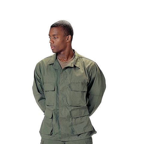 Rothco Poly/Cotton Twill Solid BDU Shirts - Main