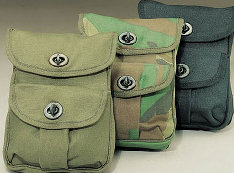 Rothco Two-Pocket Ammo Pouches - 3 Colors