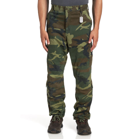 Rothco Mens Vintage Camo Paratrooper Fatigue Pants - Main