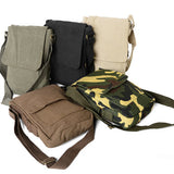 Rothco's Vintage Canvas Military Tech Bag for iPads and notebooks - All colors