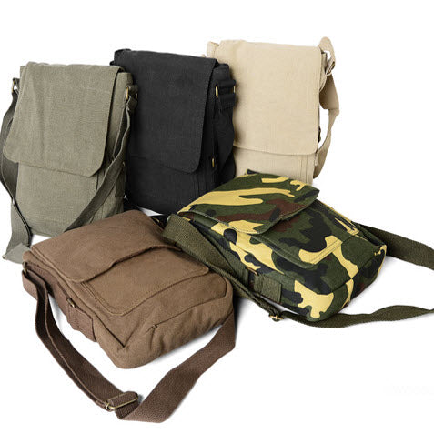 abfa8269d3da Rothco s Vintage Canvas Military Tech Bag for iPads and notebooks - All  colors