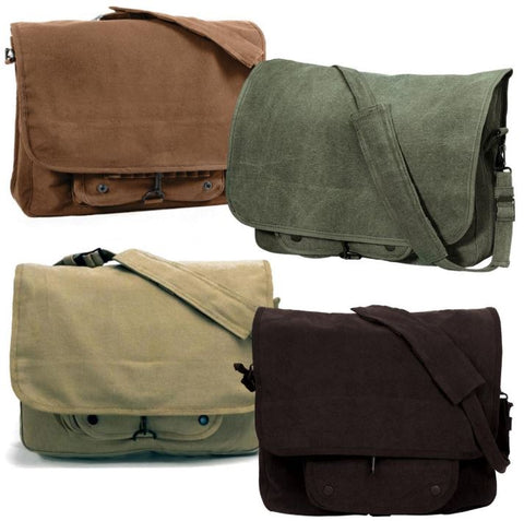 Rothco's Vintage Canvas Paratrooper Bag - All colors