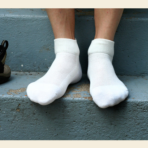 Organic Cotton Ankle Sport Socks