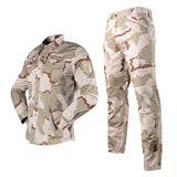 TACVASEN Assault Camouflage Suit Set - Sand