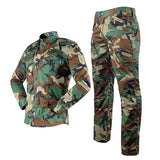 TACVASEN Assault Camouflage Suit Set - Woodland