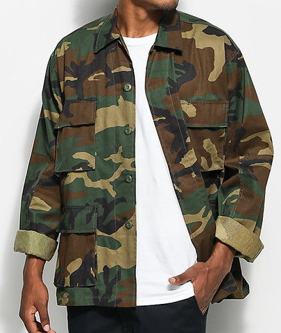 Tactical Camo BDU Shirt