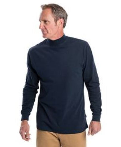 100% Cotton Tactical Mock Turtleneck