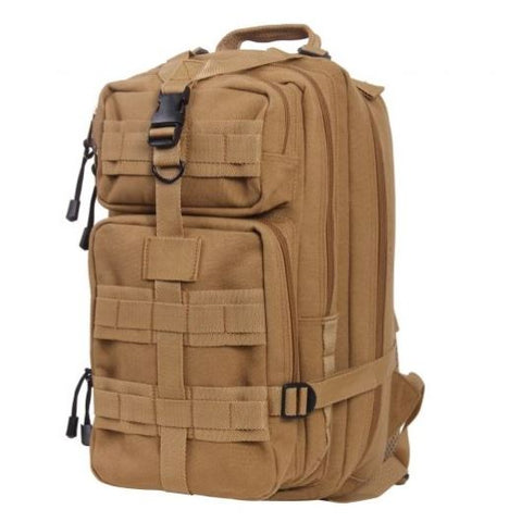 Rothco Tacticanvas Go Pack-Main - Coyote Brown