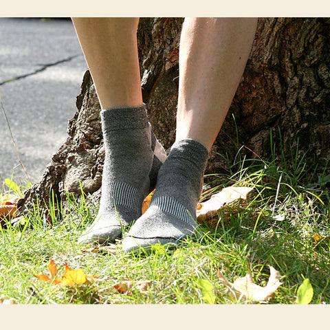 Organic Wool Urban Trail Ankle Sock