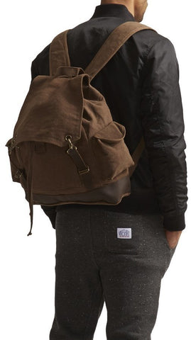 100% Cotton Canvas Vintage Expedition Rucksack-Main
