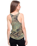 Rothco Women's Camo Racerback Tank Top - Back