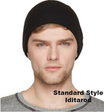 Iditarod 100% Alpaca and Fleece Beanie Hat - Standard Fit Beanie