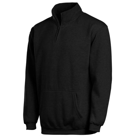 Mock Collar 1/4 Zip Sweatshirt