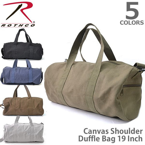 7b02d11946c Rothco Canvas Shoulder Duffle Bag - 19 Inch – South Mountain Market