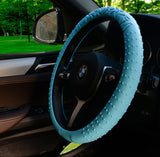 New Steering Wheel Cover Silicone Geometrical Pattern for Universal Car Diameter