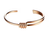 Knot Bangle Rose