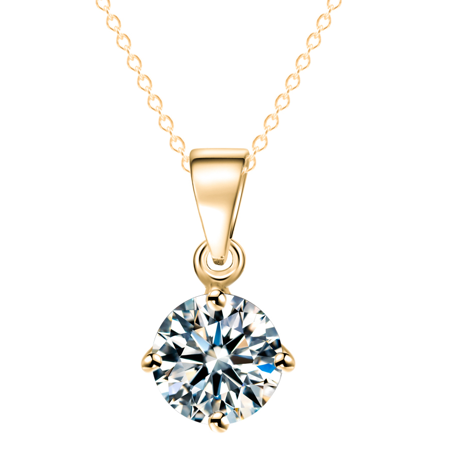 Diamond Necklace Gold