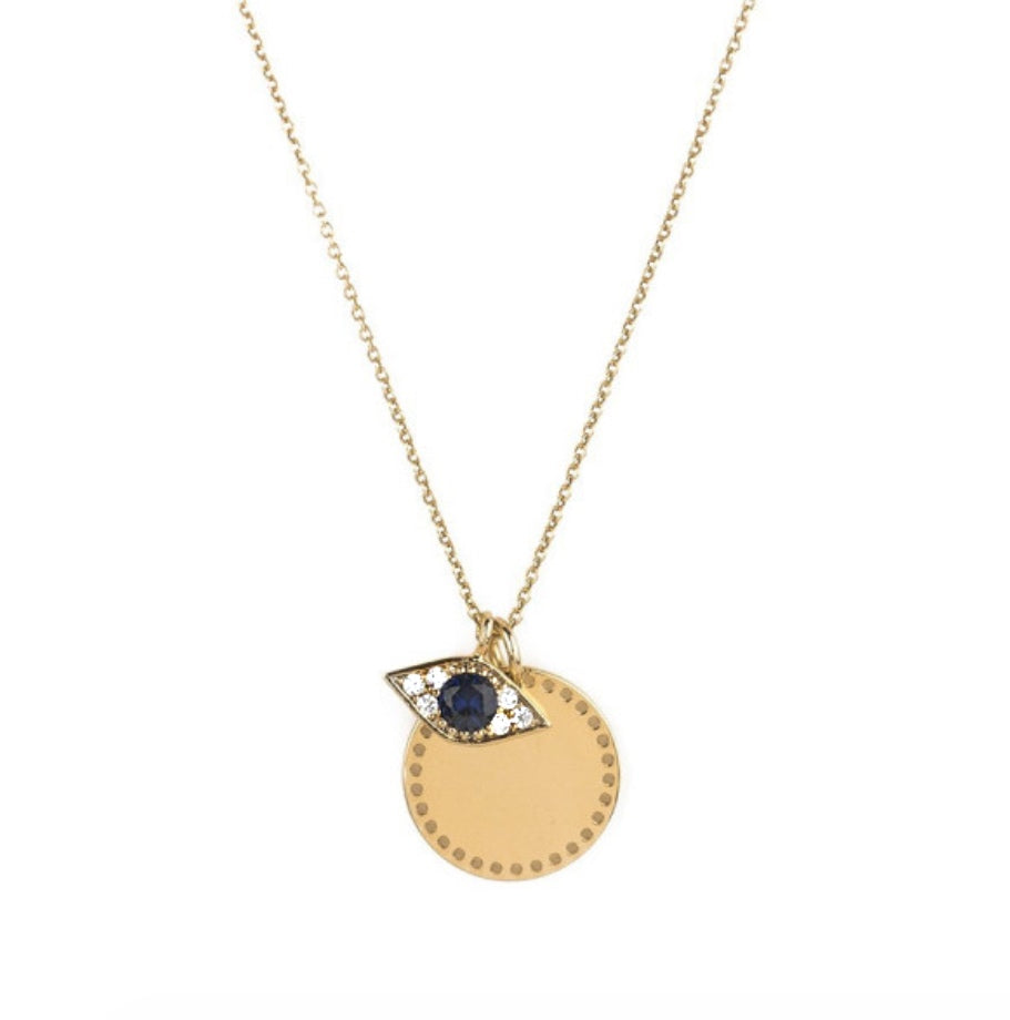 'LUCKY EYE' Necklace Gold
