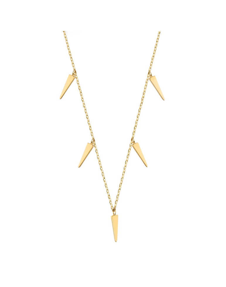 'MULTI CONE' Choker Gold