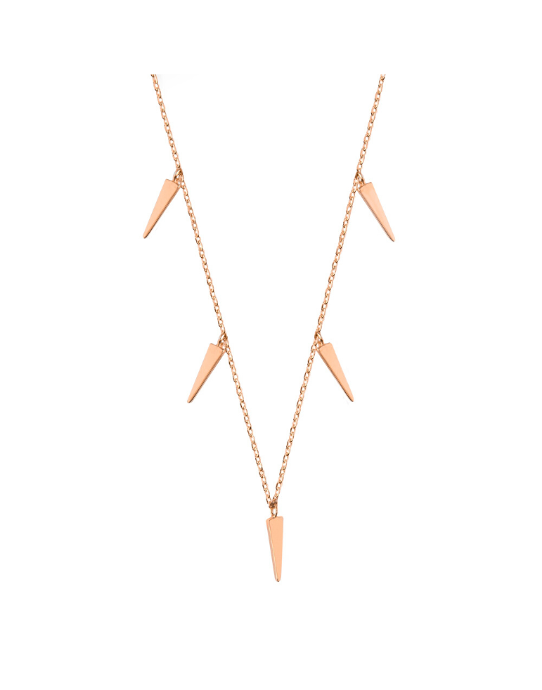 'MULTI CONE' Choker Rose