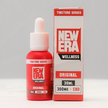 New Era Wellness CBD Tincture Series - 300mg