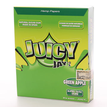 Juicy Jay's King Size Slim - Green Apple