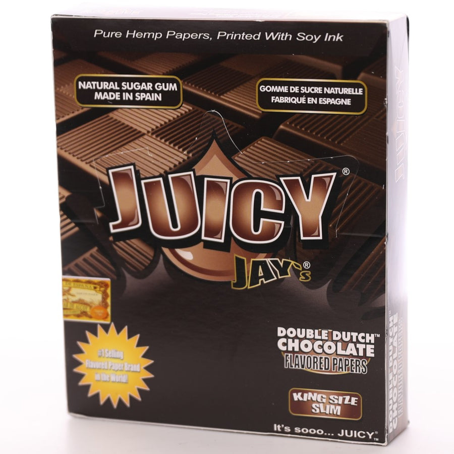 Juicy Jay's King Size Slim - Double Dutch Chocolate