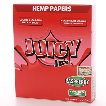 Juicy Jay's King Size Slim - Raspberry