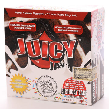Juicy Jay's King Size Slim - Birthday Cake