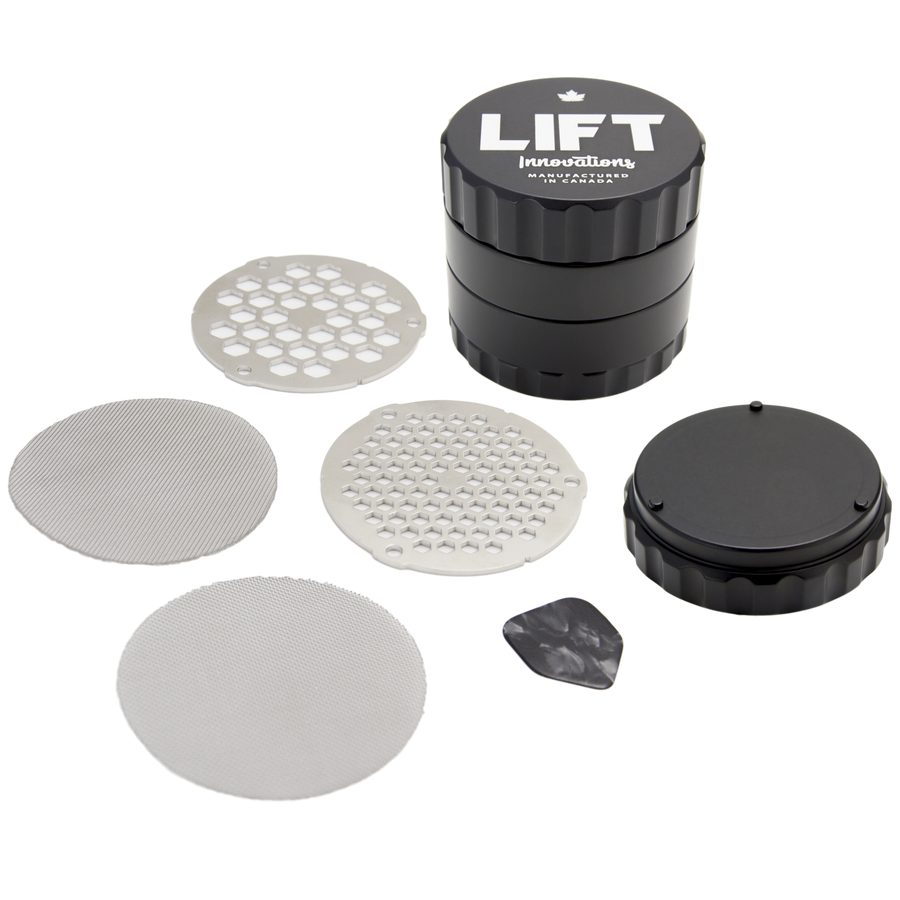 Lift Innovations 4 Piece Grinder - Full Kit