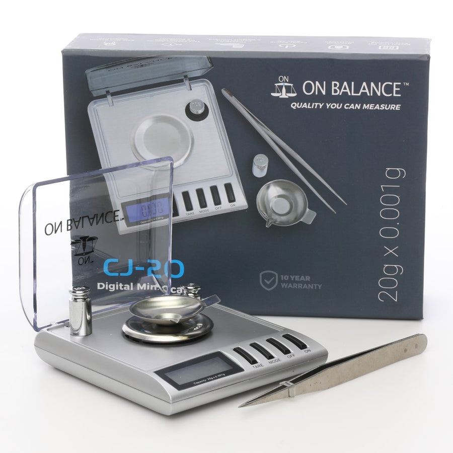 On Balance CJ-20 0.001g Scales