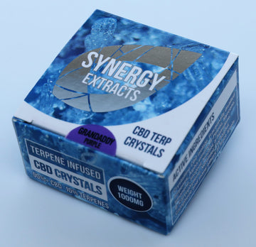 Grandaddy Purp CBD Crystals by Synergy Extracts