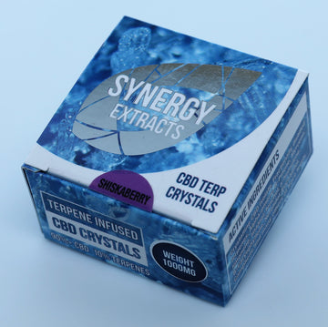 Shishkaberry CBD Crystals by Synergy Extracts