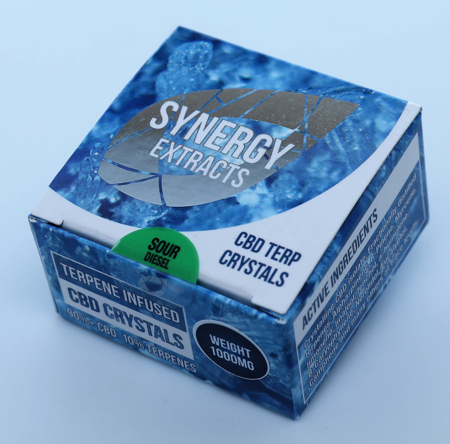 Sour Diesel CBD Crystals by Synergy Extracts