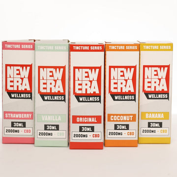 New Era Wellness CBD Tincture Series - 2000mg