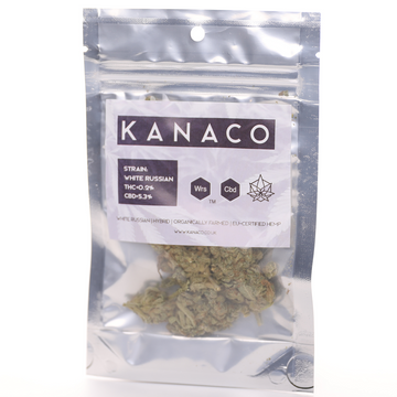 White Russian CBD Flower by Kanaco - 2 grams