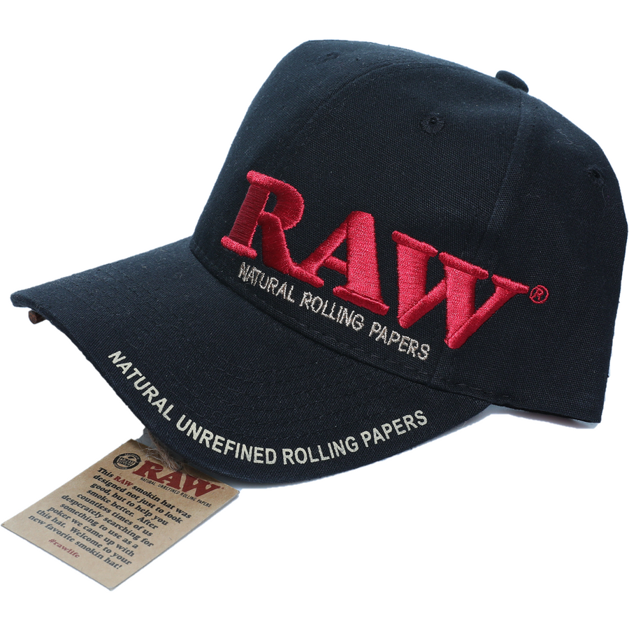 Raw Baseball Cap with Poker