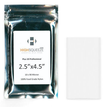 High Squeeze Essential Oil Micron Press Bags - 90 Micron