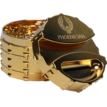 Phoenician Engineering 24k Gold Limited Edition Grinder - 78mm