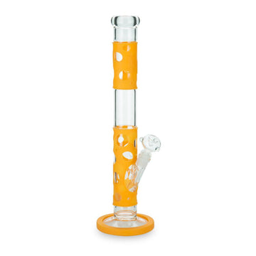 Black Leaf 'Silly Skin' Straight Tube Bong