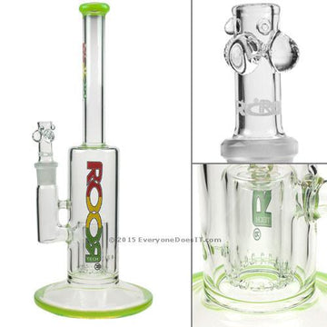 Roor Tech Fixed Meniscus Perc Straight Bong