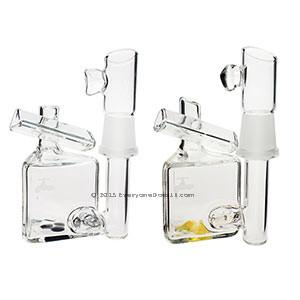 Waterworks Glass Tiny Prism Bubbler Dab Rig