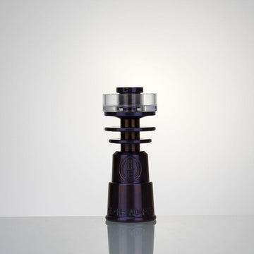 Highly Educated Hybrid DualiTi Quartz Dish Domeless Nail