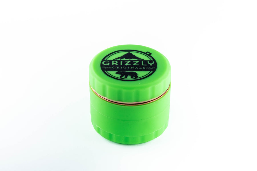 Grizzly Silicone Grinder with Steel Blade Teeth