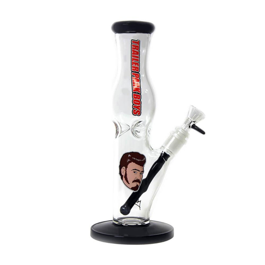 The Ricky Contoured Straight Bong by Trailer Park Boys