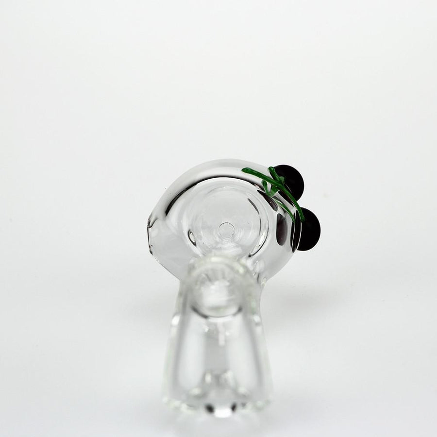 Red Eye Glass Double Cherry Sherlock Pipe
