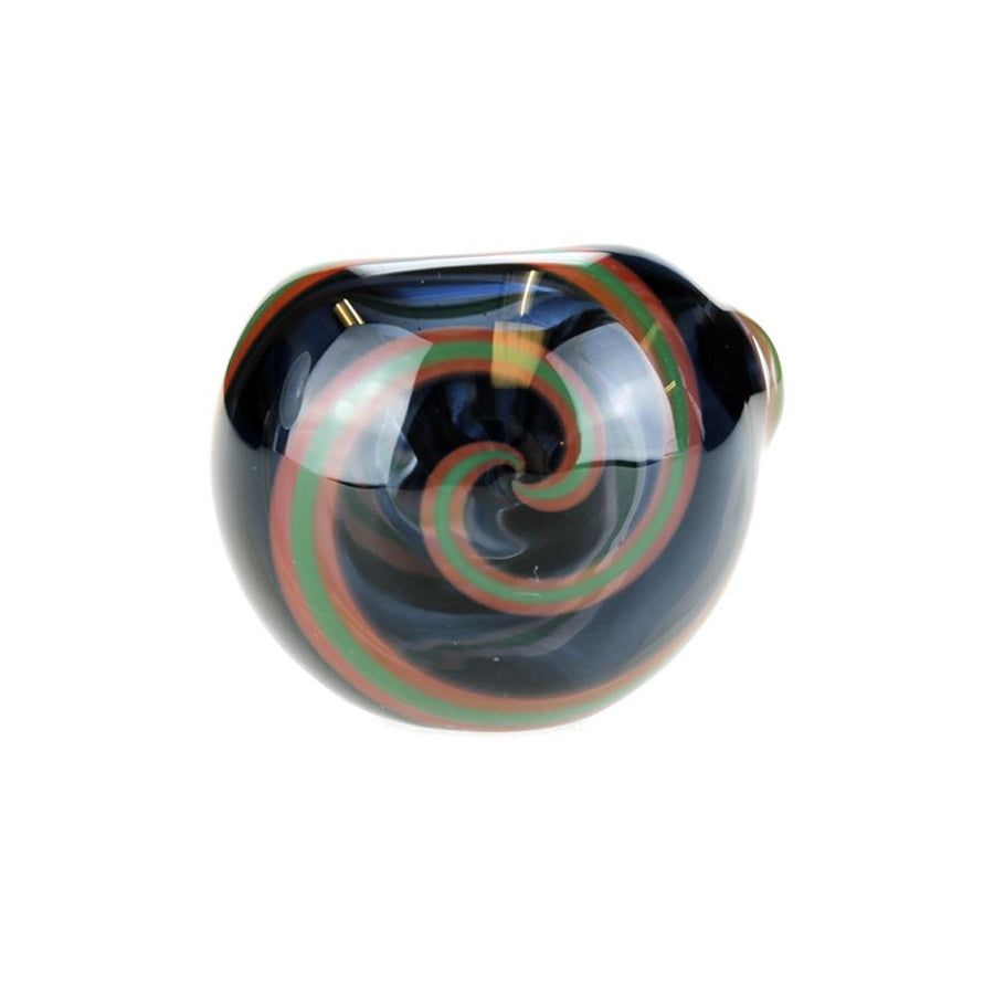 G-Spot Twisted Glass Spoon Pipe