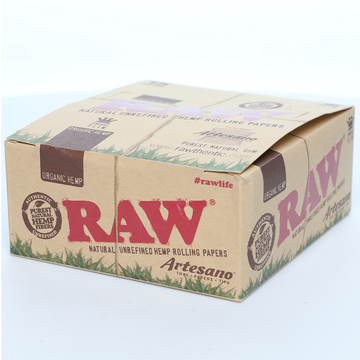 Raw Organic Hemp King Size Slim Artesano